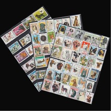 [Free shipping] No repeat! 100 pieces/bag dog postage stamp pet dog stamp postage, labrador dog postage stamp collections(China (Mainland))