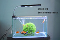 3W 48LED DC12V Aquarium Light Fish Tank Lamp with Flexible Clip White and Blue Color Lighting