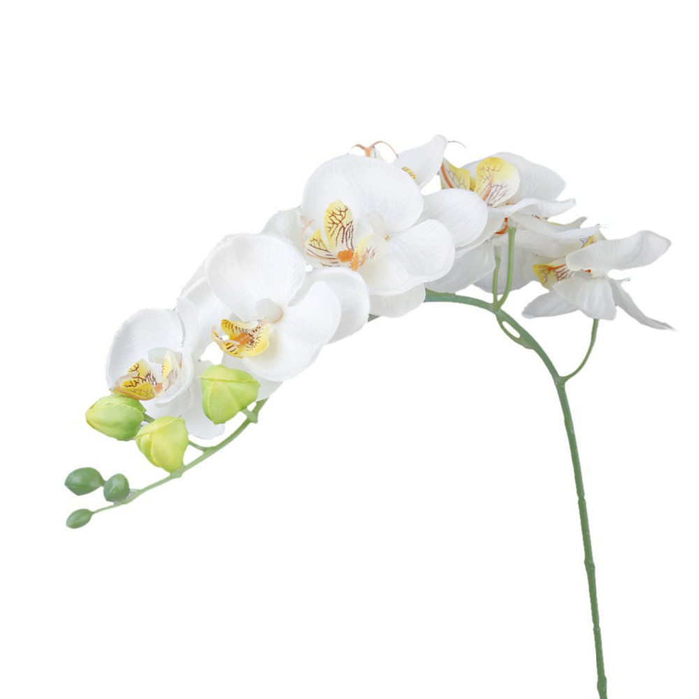 Artificial Butterfly Orchid Flower Plant Home Wedding Party Decor Phalaenopsis(China (Mainland))
