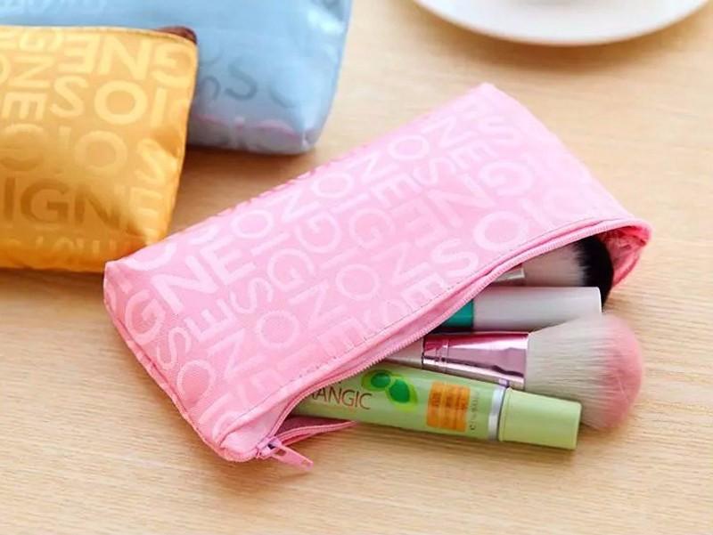 SWDF Hot Women Makeup Case Cosmetic Bag Lady Toiletries Travel Jewelry Organizer Clutch Bag Women Portable Cute Free Shipping
