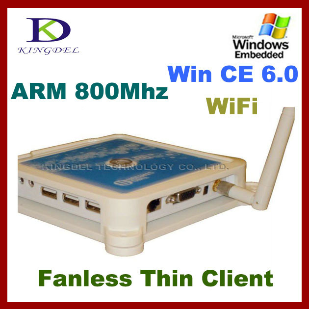 Thin Client PC Share Terminal Win7 +Net computer supporting touchscreen Station PC+Mic+USB printer+Wifi zero thin client