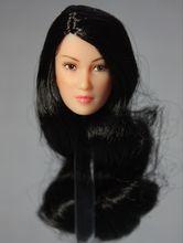 1/6 Scale Asian Beauty Head Sculpt W brunette Headplay Female Carving Phicen TTL CG Figure Body - Top Toys & Hobbies Co.,Ltd store