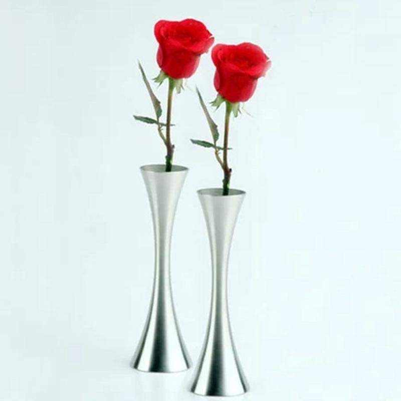 achetez en gros inoxydable vase en ligne des grossistes inoxydable vase chinois aliexpress. Black Bedroom Furniture Sets. Home Design Ideas