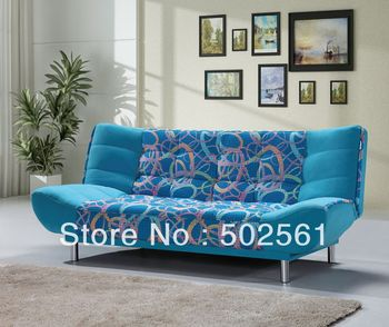 2014 new modern functional velvet fabric 3 seater sofa bed lounge living room furniture