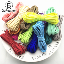 Buy GUFEATHER 500CM Suede/jewelry accessories/jewelry findings/cords/leather cord/diy accessories/jewelry making for $1.00 in AliExpress store