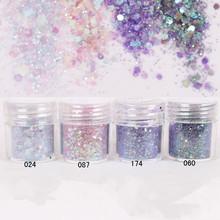 1 Box Nail Glitter Purple Sequins Glitter Powder DIY Decoration Super Matte Powder Nail Art Glitter 8234069