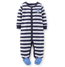 baby clothing !2015 carters Baby girl clothes jumpsuit animal romper boy clothes infant costume kids sleepwear & Pajamas vestido(China (Mainland))