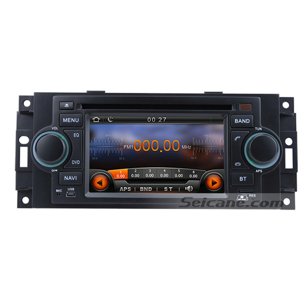 Seicane Cheap 2002-2007 for Dodge Caravan Charger Aftermarket Radio GPS Bluetooth Navigation DVD Player Touch Screen MP3(China (Mainland))