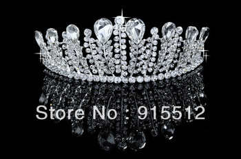 Wholesale 2013 Bling Bling Rhinestone Crystal Tiaras Hair Accessories Pageant Crowns for Sale