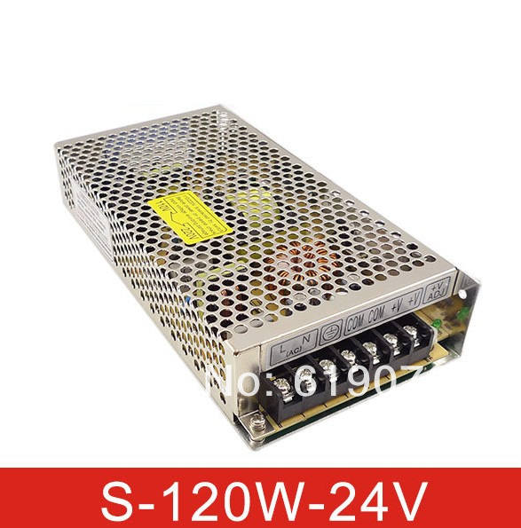 120W 24V Single Output Switching power supply for LED Strip light AC to DC<br><br>Aliexpress