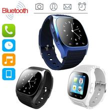 Fashion Smartwatch Waterproof 2016 M26 Reloj Inteligente Bluetooth LED Alitmeter Smart Watch For Apple IOS Android Smart Phone