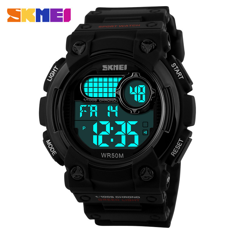 Skmei Fashion Brand Digital Wrist Watches Men's Sport Watches Men Wristwatches 30M s Shock Waterproof Alarm Relogio Clock(China (Mainland))