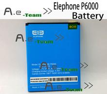 100% оригинал Elephone P6000 аккумулятор новый высокое качество замена для мобильного телефона 2700 мАч резервного Bateria Batterij бесплатная доставка