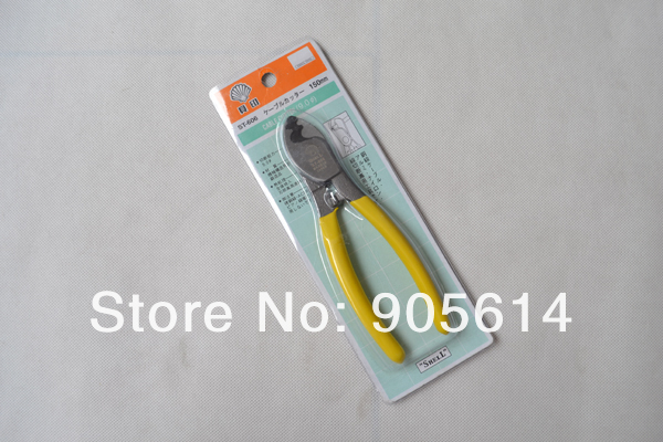Handle Steel Cord Cable Wire Cutter Tool Grip Cutting Plier High Leverage 16cm ST606 A(China (Mainland))