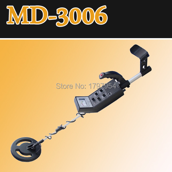 Free Shipping! MD-3006 manufacturer best quality hobby ground search gold metal detector(China (Mainland))