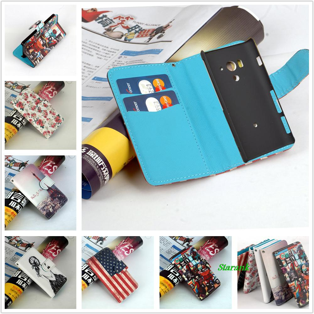 Jia&HH Pattern Leather Case For Sony Xperia Acro S LT26W Phone Cover with Stand and Card Slots ,Free Shipping(China (Mainland))