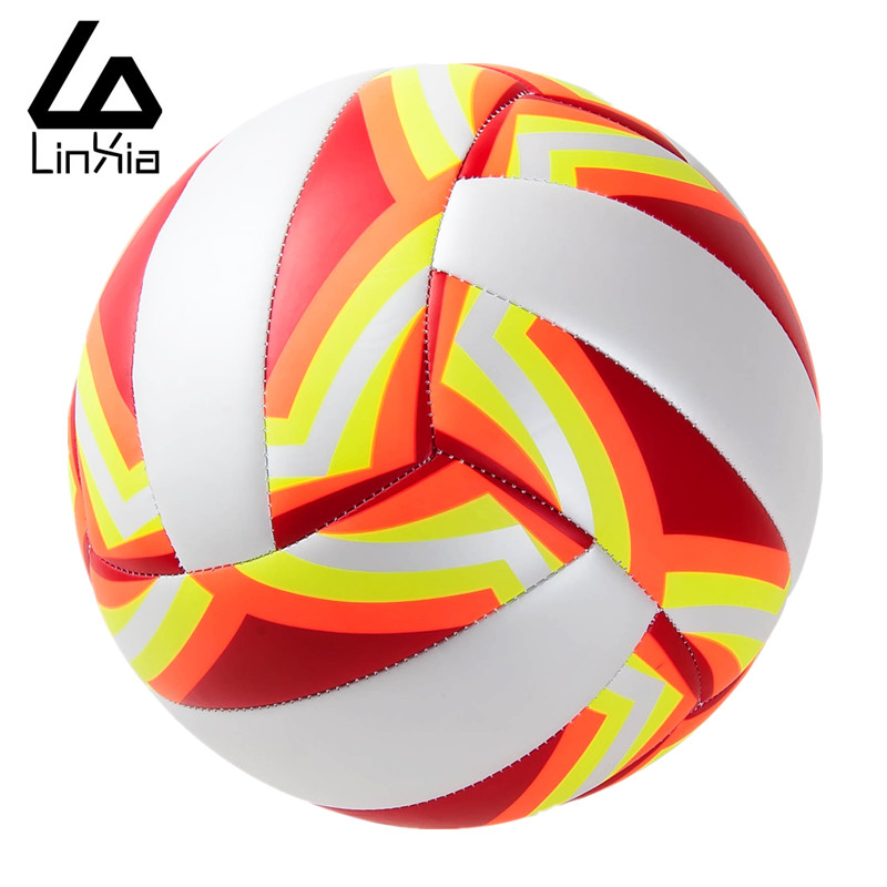 New Official Size 5 PU Leather Volleyball Match Indoor Outdoor Training Competition Thickened Volley Ball Voleibol Free Shipping(China (Mainland))