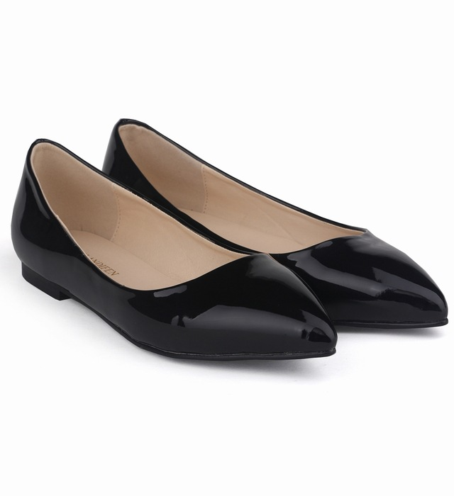 Size 35-42 Autumn Spring Women Shoes Low Heels Flats Woman Dress Shoes Basic Flat Lasies Slip On Shoes SMYNLK-AB0122
