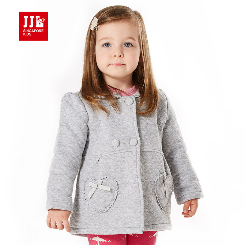 sweet baby girls coat turn-down collar warm winter children outerwear fashion kids clothing newborn winter jacket <br><br>Aliexpress