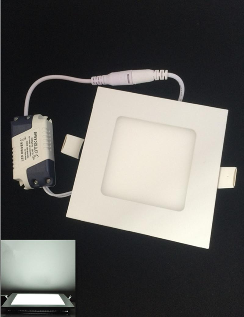 DHL Free 10pcs/lot 6W led Panel lights Ceiling lamps AC85-265V led lamps Warm white/white LED Downlights 180 Degree<br><br>Aliexpress
