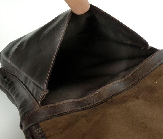 ซื้อ วินเทจหนังแท้ผู้ชายกระเป๋าลำลองผู้ชายcowskinธรรมชาติถุงcrossbodyกระเป๋าสะพายไหล่ธุรกิจสำหรับผู้ชาย#md- j7045