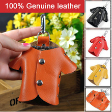 2016 Hot Creative Lovely Key Wallets Men&Women Genuine Cow Leather Fashion Clothes Shape Key Holder Organizer,ANS-CL-Y012