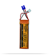 Buy You&me Grade cell Li-polymer battery 7.4V 2700MAH 2S RC toys RC car helicopter for $18.04 in AliExpress store