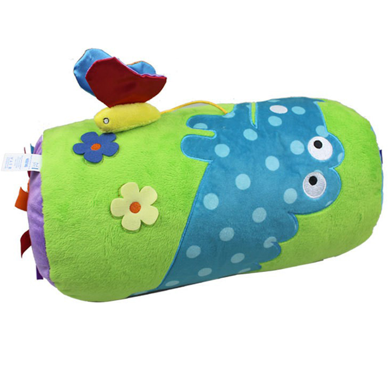 Baby Activity Game Crawl Multifunction Roller/Climbing Pillow Rattle/Mobile Education Stuffed Toy For Boy/Kid/Newborn 0-12 Month(China (Mainland))