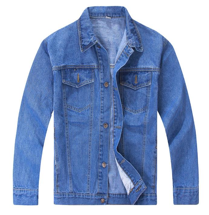 Free shipping New 2015 Autumn men denim jacket male jeans outerwear plus size denim shirt work wear jackets men Coat Men TA892(China (Mainland))