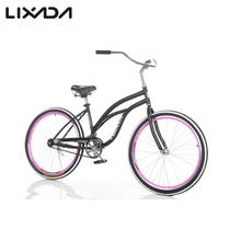 "Lixada 26"" Speed Wide Tire Sport Bicycle, Fat Mountain Bike, Snow Bike Beach Bike, MTB Beach Cruiser Bike, Carbon Steel Frame(China (Mainland))"