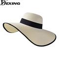 Dexing korean style big visor Seaside sun visor hat female sun summer hats for women