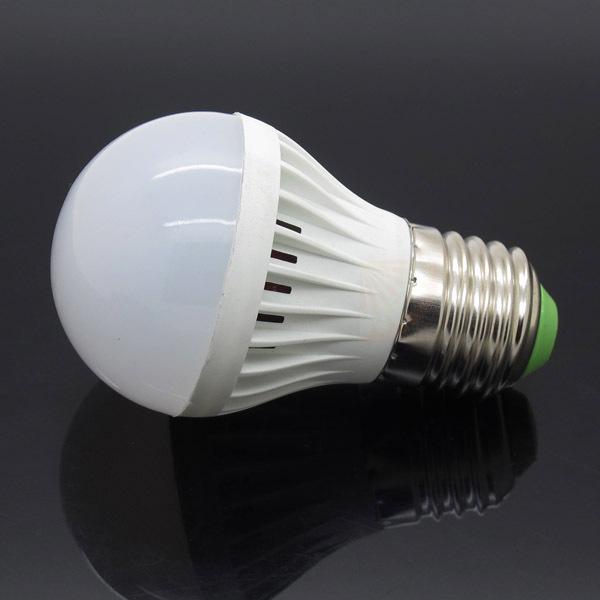 LED Plastic Bulbs E27 3W Lamp 2835 SMD LED Bulb Light Spotlight 220V Low Price Energy Saving Globe Lamp(China (Mainland))