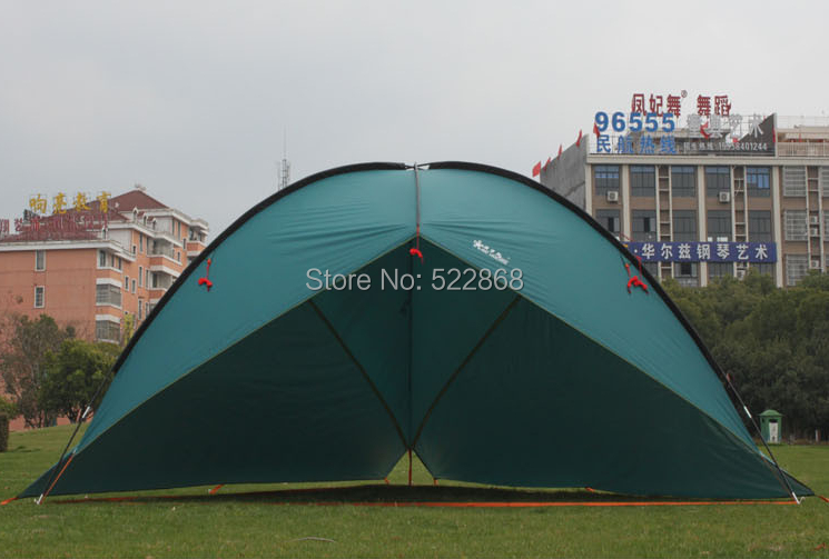 2014 New style high quality 480*480*480*200cm large size ultralight waterproof sun shelter camping tent awning<br><br>Aliexpress