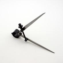 Diy ajustable para cuero herramienta rotativa ralladora borde rebasado la línea brújulas