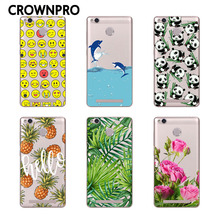 Buy CROWNPRO Redmi 3S 3 Pro 3 S Soft TPU FOR Xiaomi Redmi 3S Case Cover Phone Painted Back Protective FOR Xiaomi Redmi 3 PRO Case for $1.14 in AliExpress store