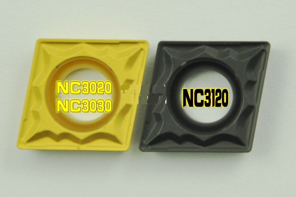 KORLOY ISO Tungsten Carbide Inserts turning tools milling cutter CCMT060208-HMP NC3120 For STEEL P15-P25(China (Mainland))