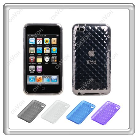 S5Y Hydro Plastic Gel Silicone Case Cover Skin for Apple iPod Touch 4th Gen 4G(China (Mainland))
