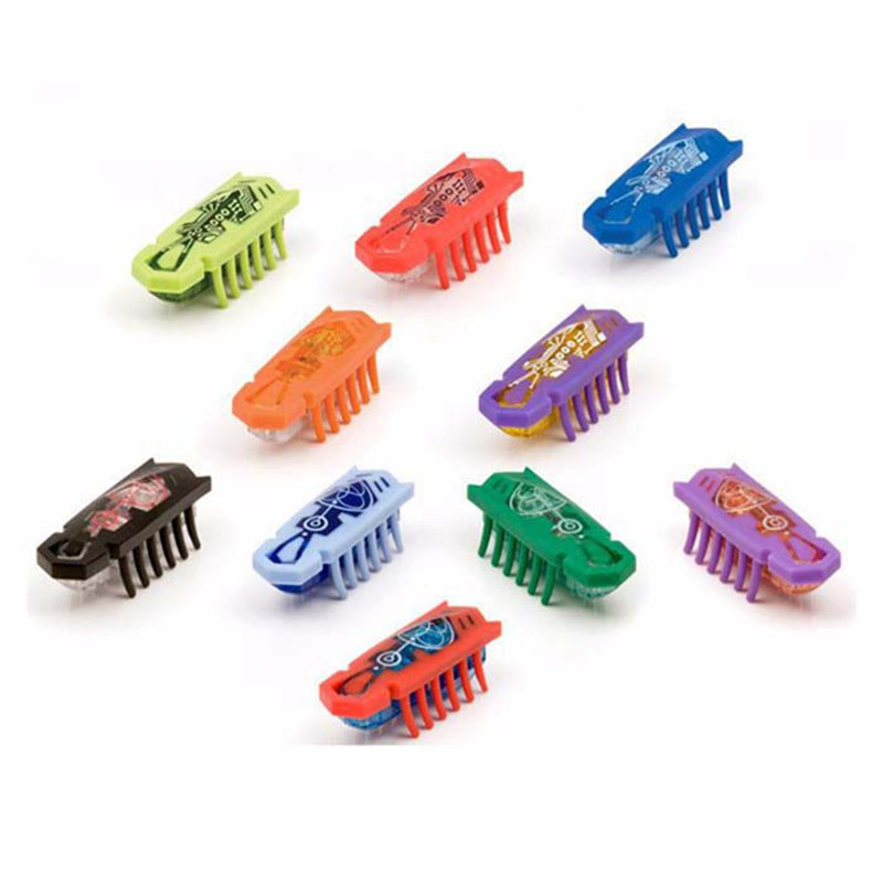 5pcs/lot Nano bug electronic pet robotic insect toys mini robot child baby Nano worm fighting insect reptiles Shaking dog toy(China (Mainland))