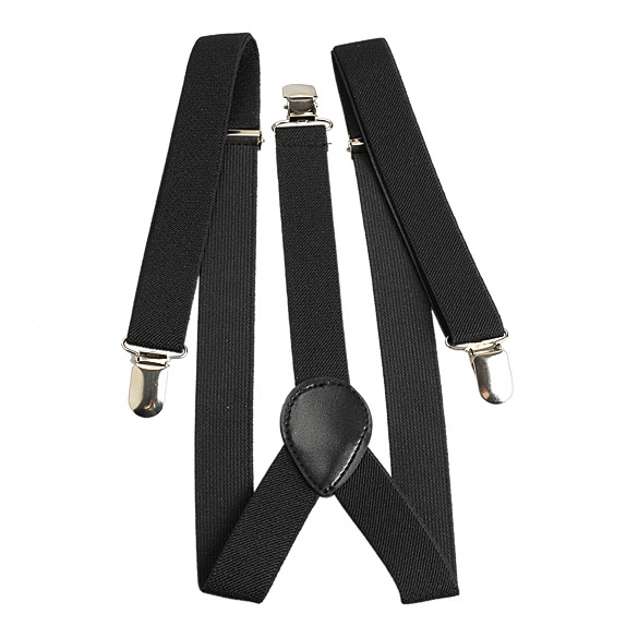 New Style Elastic Brace Suspender Y Back Neon Clip on Belt for Overall Adult Child NVIE
