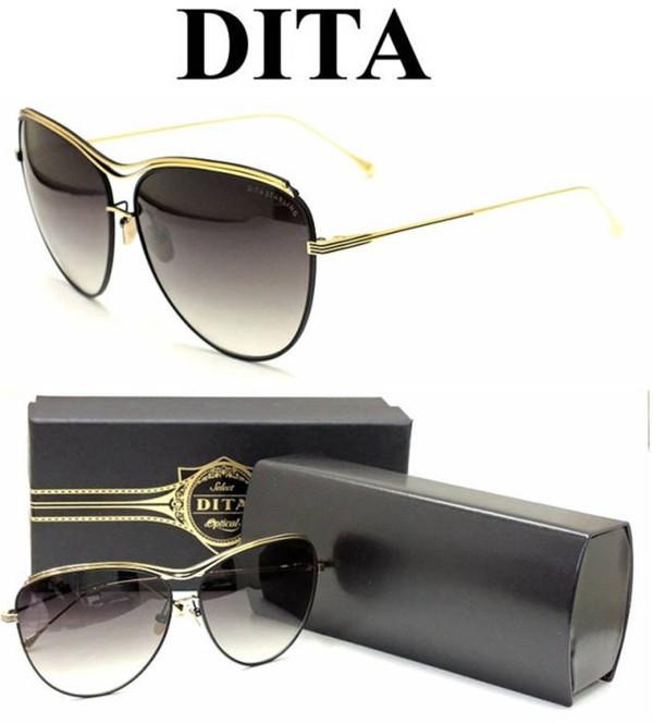 DITA new sunglasses DITA Straling union sex designs metal cat eyes polarized lens women design luxury brandОдежда и ак�е��уары<br><br><br>Aliexpress