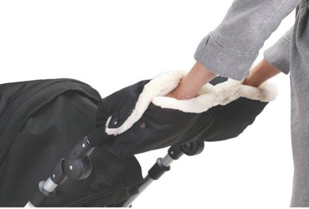 Baby stroller accessories winter waterproof anti-freeze pram hand muff baby carriage gloves,baby buggy clutch cart muff glove(China (Mainland))