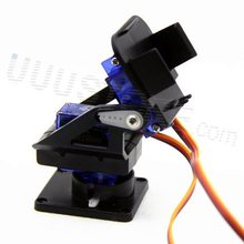 Free Shipping,1set Nylon FPV Pan/tilt Camera Mount  Gimbal+ 2pcs SG90 9g Servo Retail Promotion  Dropship(China (Mainland))