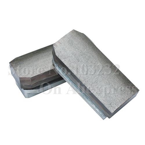 L140 x 12 diamond fickert metal block for granite polishing brick for granite polishing machines(China (Mainland))