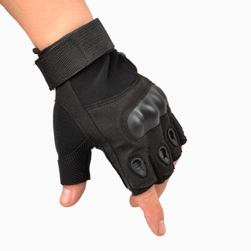 2015 tactical gloves for men fingerless army gloves