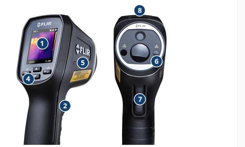 Купить Бесплатная доставка TG165 Flir ИНФРАКРАСНЫЙ Термометр Диапазон Инфракрасный термометр-25 до 380C Инфракрасный термометр с Разрешением 80x60