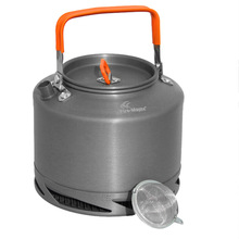 1.5L Portable Outdoor Hiking Camping Picnic Water Kettle Teapot Coffe Pot Aluminum Fire Maple FMC-XT2 Heat Collecting Exchanger(China (Mainland))