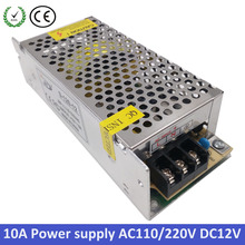 120W 12V  power supply 10A mini led driver Small Volume Single 12 volt Output Switching  for LED Strip light power suply(China (Mainland))