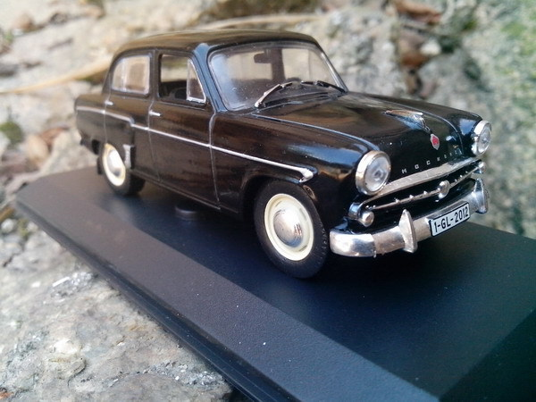 1:43 alloy car model GAZ 407 MOSKVITCH 407 Moskvich Soviet cars Gaz seagulls CCCP cars toys for children(China (Mainland))