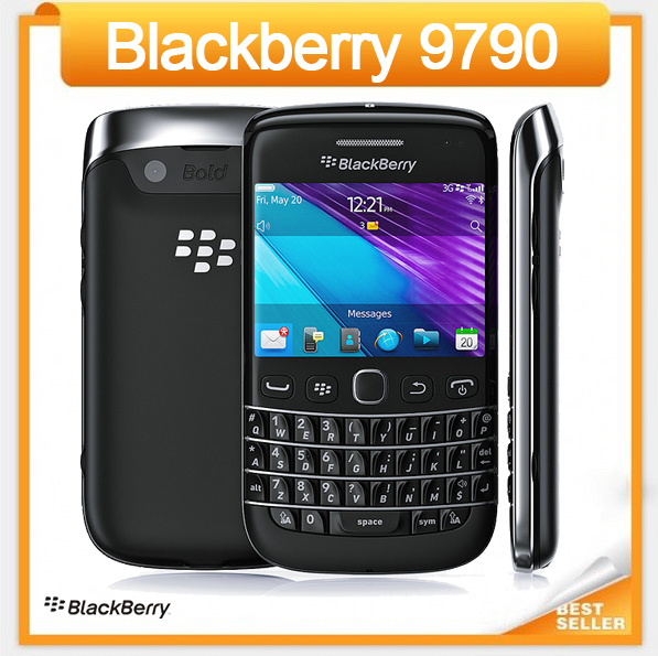 The original blackberry 9790 5.0 mp touch screen mobile phone GPS + QWERTY keyboard(China (Mainland))