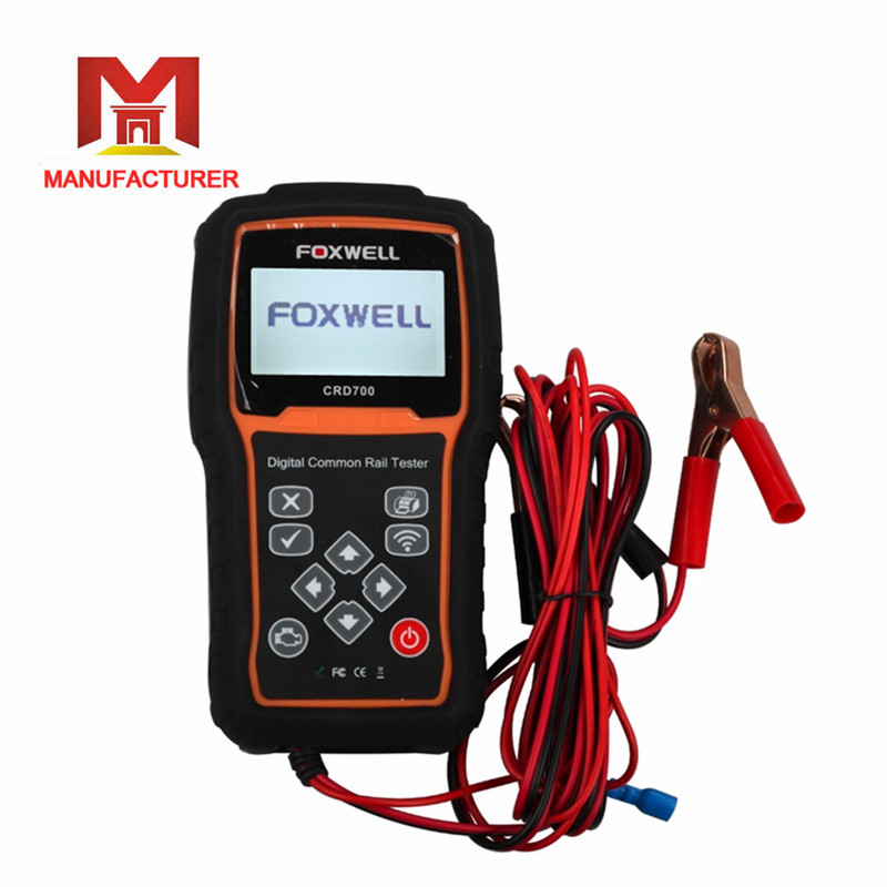 FOXWELL CRD700 Car Style Diagnostic Scan Tools Digital Common Rail Pressure Tester Scanner Wireless Data Transmitter for Cars(China (Mainland))